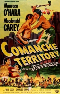 Comanche Territory poster