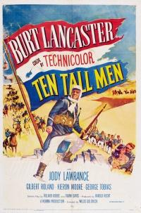 Ten Tall Men poster