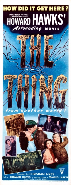 The Thing From Another World Poster