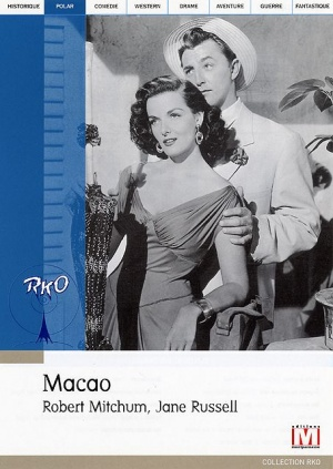 Macao Dvd cover