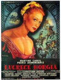 Lucrèce Borgia poster