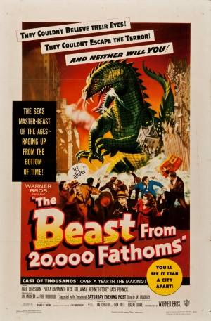 The Beast from 20,000 Fathoms 3224x4915