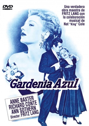 The Blue Gardenia Dvd cover