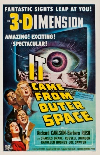 It Came from Outer Space poster