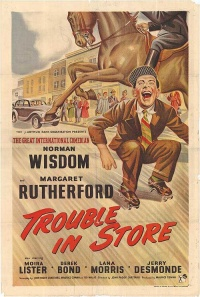 Trouble in Store poster