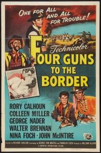 Four Guns to the Border poster