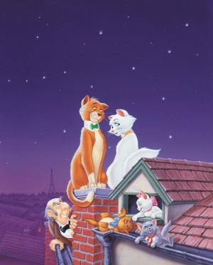 The Aristocats Key art