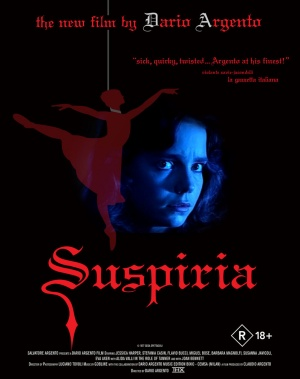 Suspiria Blu-ray cover