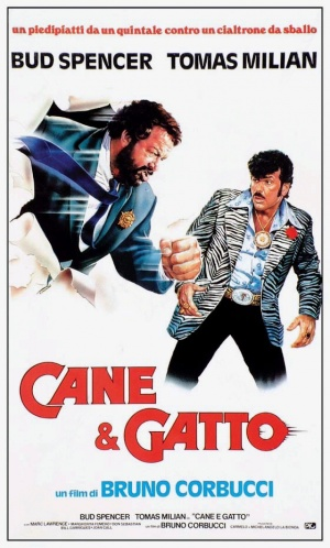 Cane e gatto Theatrical poster