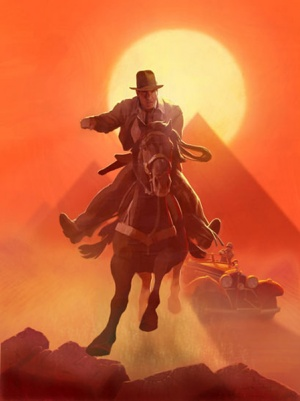Indiana Jones and the Last Crusade 449x600