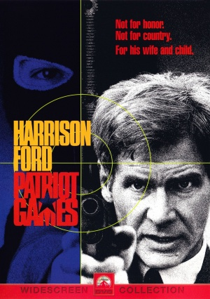 Patriot Games Dvd cover
