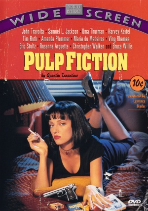 Pulp Fiction Dvd cover