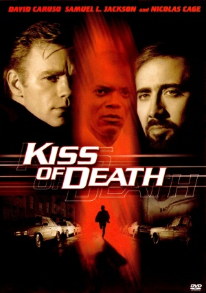 US dvd cover for Kiss Of Death
