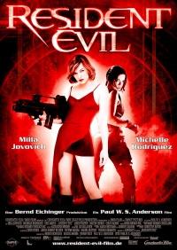 Resident Evil the Movie poster