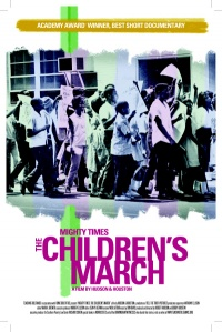 Mighty Times: The Children's March poster