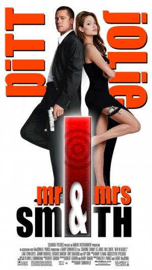 Mr. & Mrs. Smith 400x707