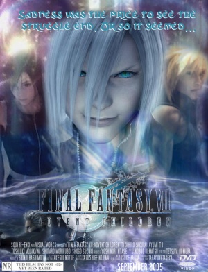 Final Fantasy VII: Advent Children 841x1100