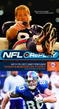 NFL Replay poster