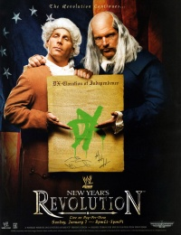 WWE New Year's Revolution poster