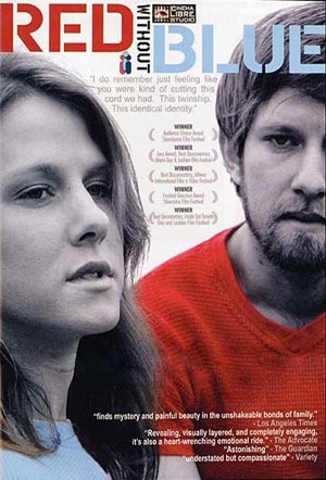 Red Without Blue Dvd cover