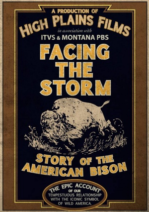 Facing the Storm: Story of the American Bison Cover