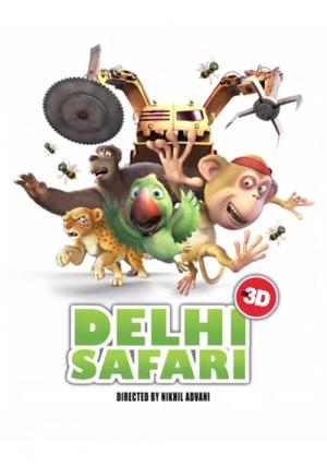 Delhi Safari 500x714
