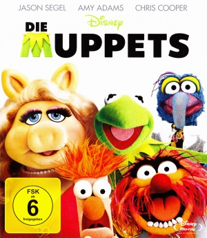 The Muppets Blu-ray cover