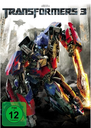 Transformers: Dark of the Moon Dvd cover