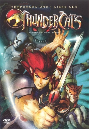 Thundercats Movie Actors on Mexican Dvd Cover For  Thundercats