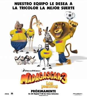 Madagascar 3: Europe's Most Wanted 3239x3600