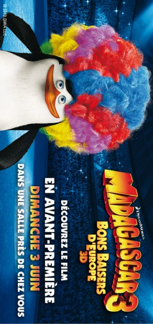 Madagascar 3: Europe's Most Wanted 360x760