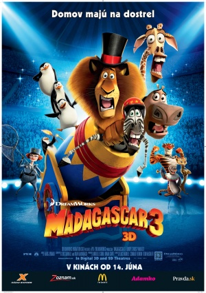 Madagascar 3: Europe's Most Wanted 3527x5000
