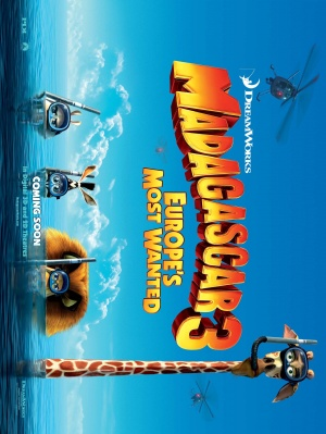 Madagascar 3: Europe's Most Wanted 2168x2886