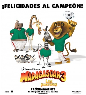 Madagascar 3: Europe's Most Wanted 950x1056