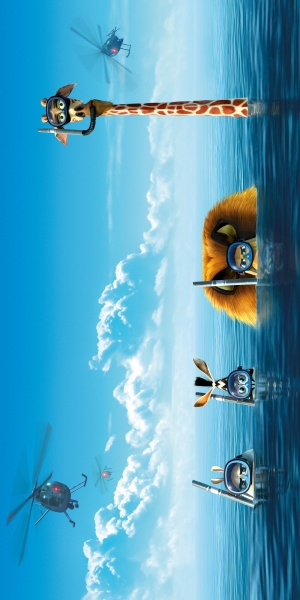 Madagascar 3: Europe's Most Wanted 2500x5000
