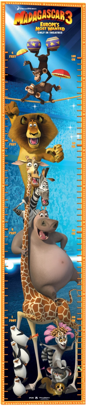 Madagascar 3: Europe's Most Wanted 321x1500