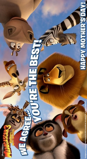 Madagascar 3: Europe's Most Wanted 549x1000