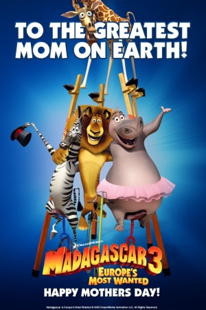 Madagascar 3: Europe's Most Wanted 667x1000