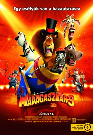 Madagascar 3: Europe's Most Wanted 1380x2000