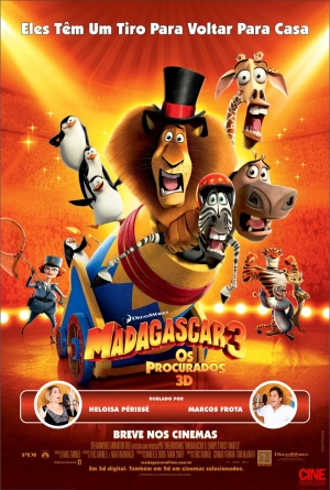 Madagascar 3: Europe's Most Wanted 800x1186