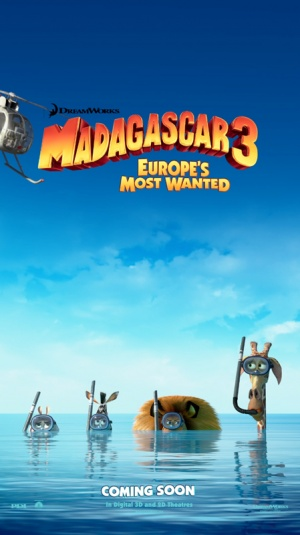 Madagascar 3: Europe's Most Wanted 449x800