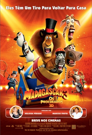 Madagascar 3: Europe's Most Wanted 500x735