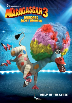 Madagascar 3: Europe's Most Wanted 616x872