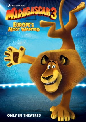 Madagascar 3: Europe's Most Wanted 616x868