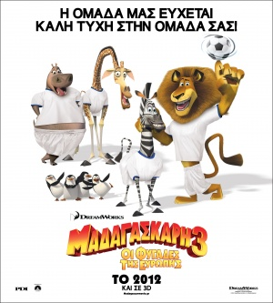 Madagascar 3: Europe's Most Wanted Poster