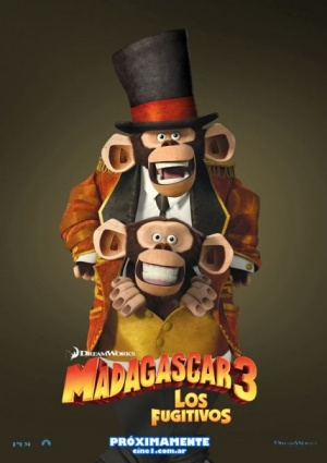 Madagascar 3: Europe's Most Wanted 472x669