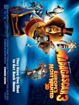 Madagascar 3: Europe's Most Wanted 3000x4000