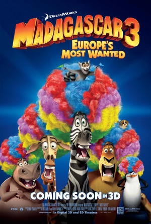 Madagascar 3: Europe's Most Wanted 2426x3600