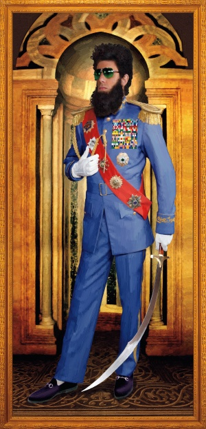 The Dictator 2100x4359