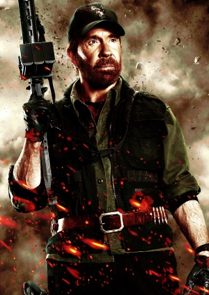 The Expendables 2 Key art